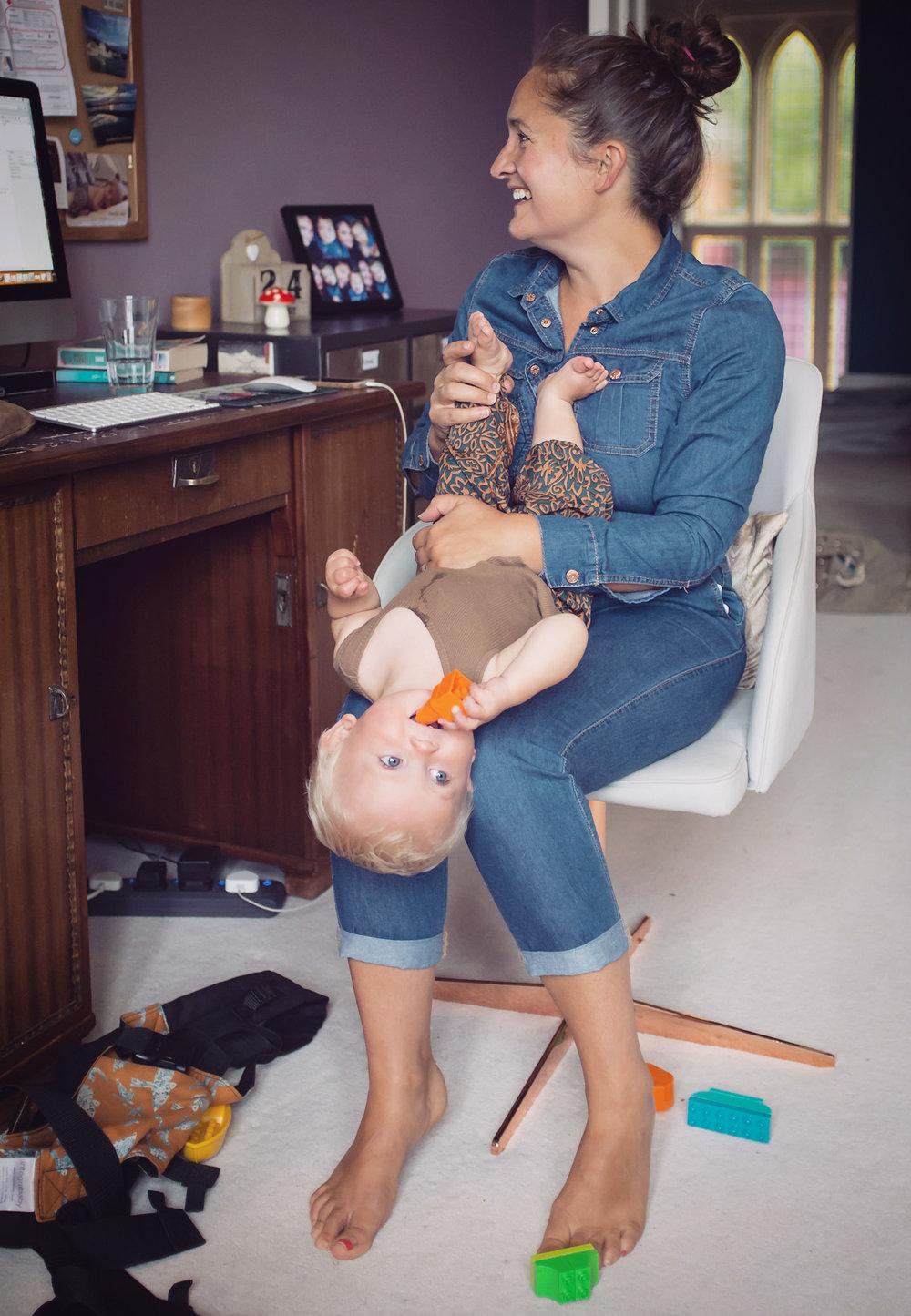 Sophie Lovett and baby. Image: Viola Depcik