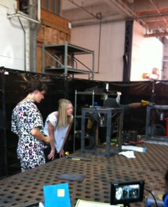 Tricia Huntley at Urban Electric Co. manufacturing facility