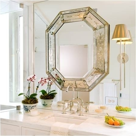 Georgetown Harbor bath mirror // Tricia Huntley