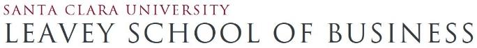 Santa Clara University Leavey School of Business MBA