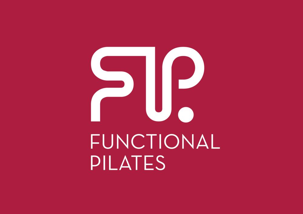 Functional Pilates Logo on Red PMS1945 (White Logo).png