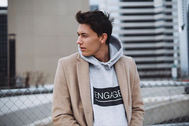 Engage Hoodie x @evan.mann *available in all sizes, ships across Canada and US #madewithpurpose