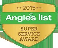 Angies super service award 2015