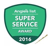 Angies super service award 2016