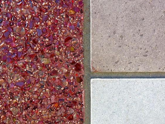 Gate Precast University of Houston Cougar Walk Glass Aggregate.jpg