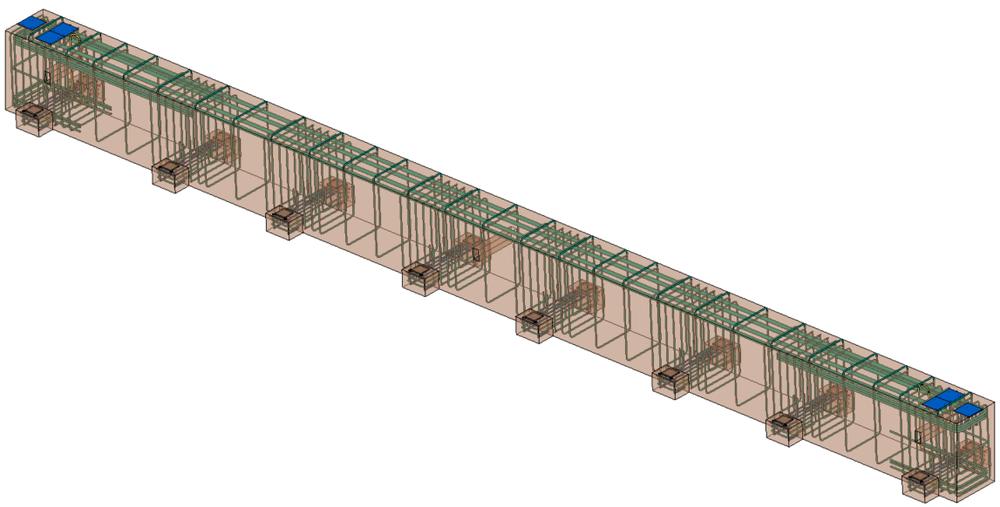 beam modeled using edge^r