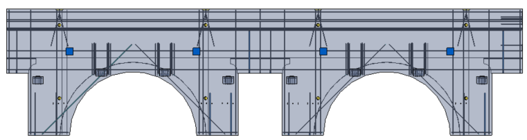 assembly modeled in revit using edge^r