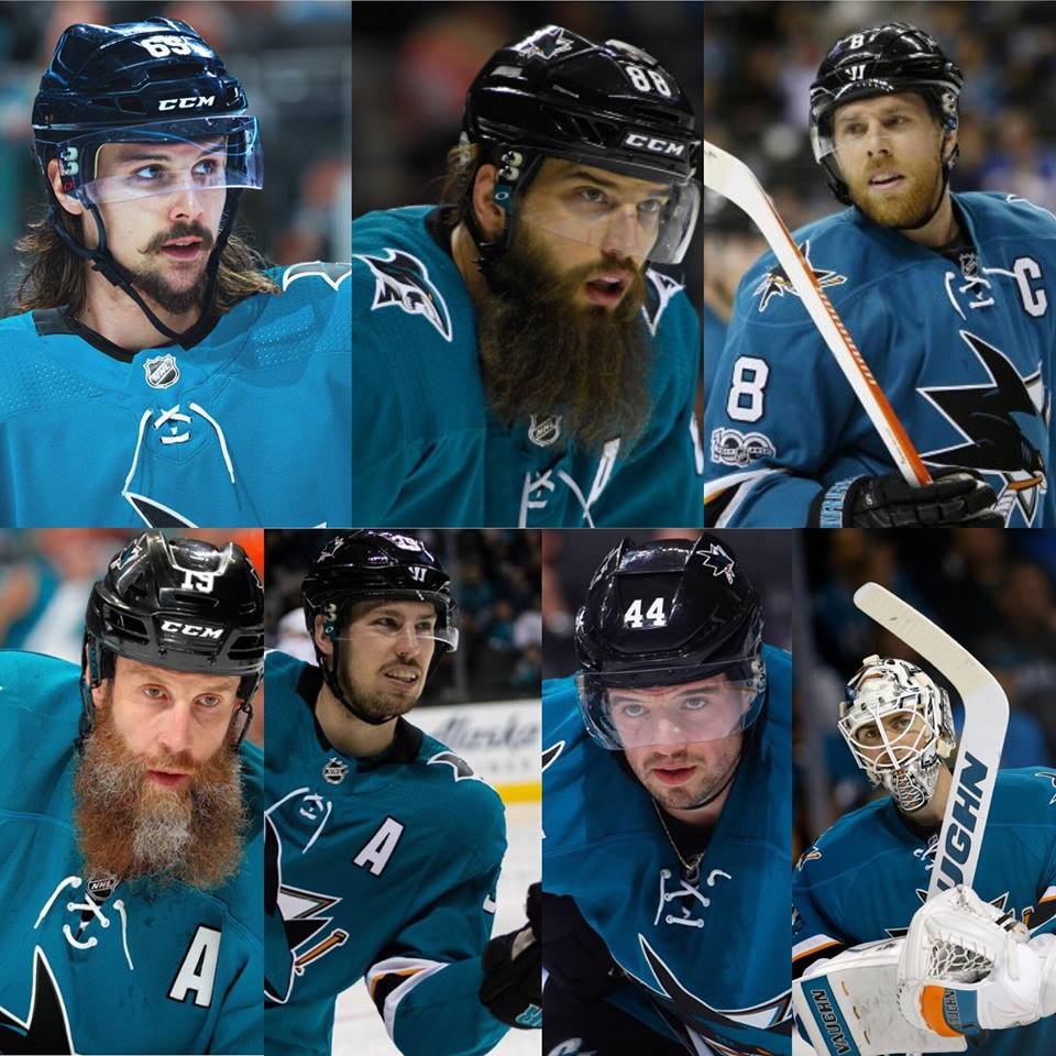 Some key pieces for the Sharks this season.