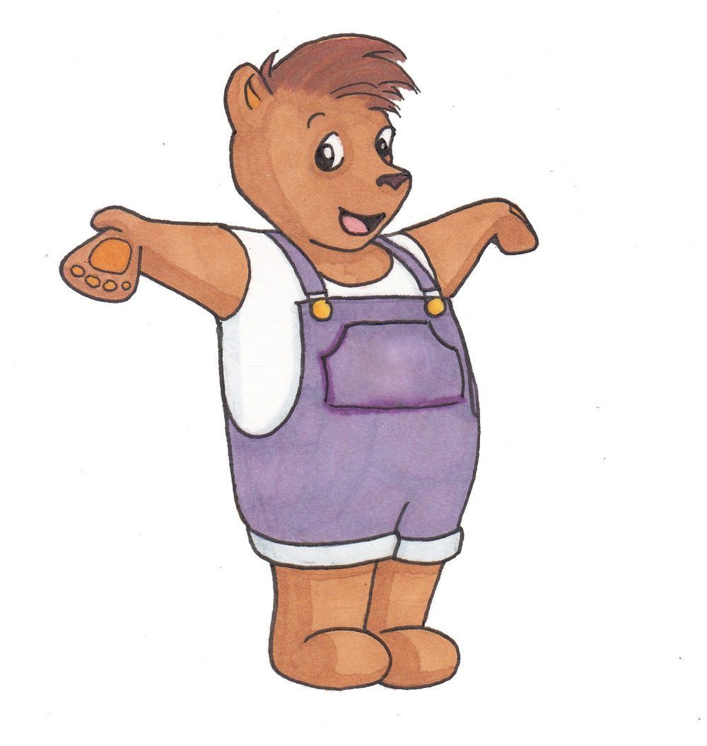 honeycake the bear - Meet Honeycake, the friendly and curious guide to Honeycake magazine.