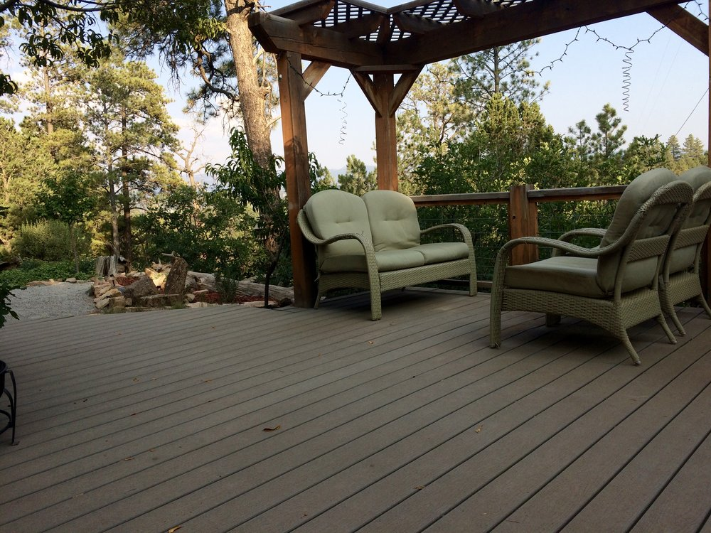 One the common deck spaces…enjoy sun bathing, reading and bird watching from this venue