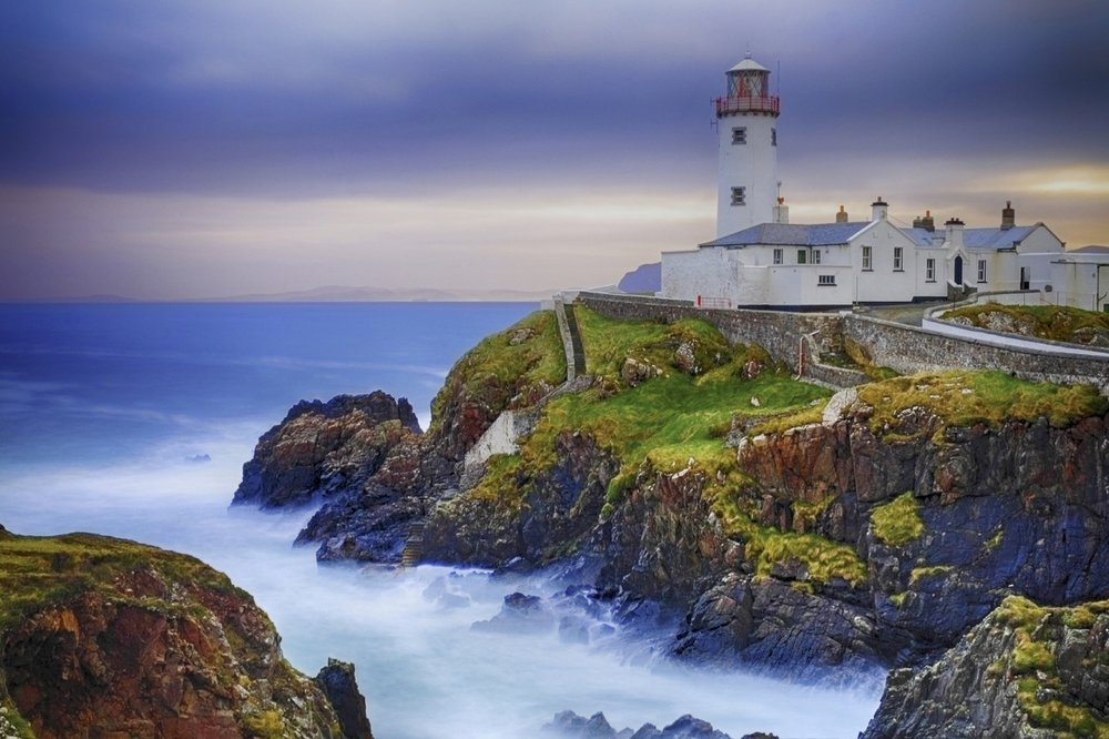 Donegal  in the North West of Ireland  Music Artists   Paul Brady  ,  Enya  & Clannad   were all born in Donegal