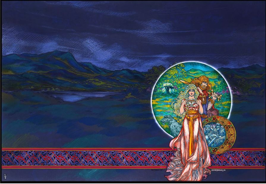 Jim Fitzpatrick Irish Celtic Art