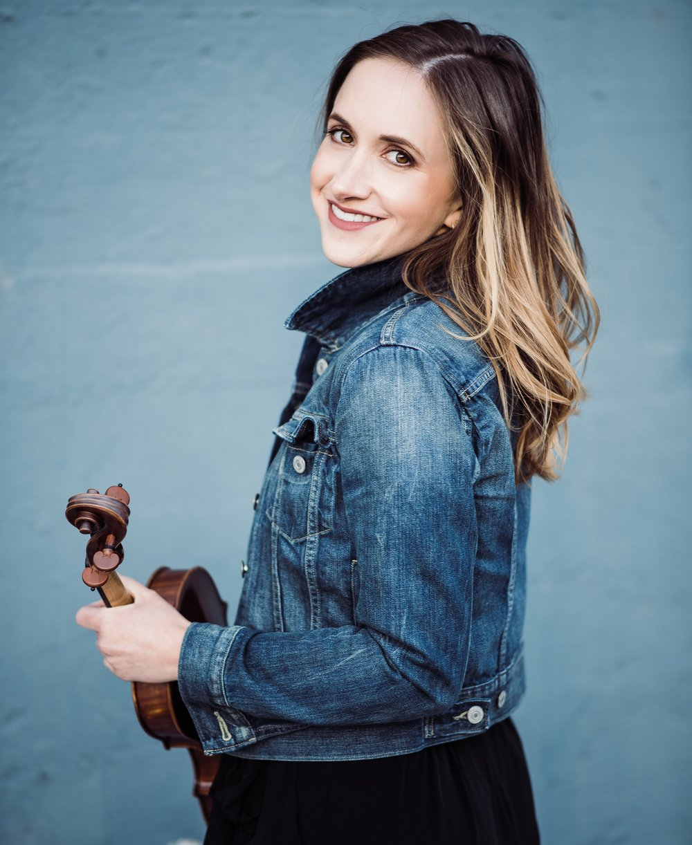 - Born in Philadelphia, Pennsylvania, violinist Emily Botel has performed throughout North America and Europe with the belief that music is a powerful tool to create connection and community. She is passionate about reaching new audiences through small ensemble and chamber orchestra performance. Emily is first violinist of the Amaranth Quartet, a founder and violinist with the unconducted, chamber orchestra One Found Sound, and a member of the San Francisco Chamber Orchestra. Emily has appeared as soloist with the San Francisco Academy Orchestra, has performed with many orchestras including California, Monterey, Marin, Oakland East Bay, Santa Rosa, and Stockton Symphonies. Emily has performed at various festivals such as Aldeburgh, Banff, Kronos, National Repertory Orchestra, New Music on the Point, Lake Tahoe, and Spoleto USA.Emily earned a Bachelor of Music degree from the Cleveland Institute of Music, with a minor in Psychology from Case Western Reserve University, a Master of Music degree from the San Francisco Conservatory of Music and an Artist Diploma in Orchestral Studies as a member of the San Francisco Academy Orchestra. She has studied with renowned pedagogues Linda Cerone and David Updegraff, award winning soloist and chamber musician Ian Swensen, San Francisco Symphony members Catherine Van Hoesen, David Chernyavsky, and Melissa Kleinbart and baroque violinists, Julie Andrijeski and Elizabeth Blumenstock.As a chamber musician, her work has taken her to a variety of venues including SFJAZZ, Herbst Theater, Freight And Salvage, Legion of Honor, and the DeYoung Museum. With a passion for early music, Emily was a founding member of the baroque ensemble MUSA and has performed with the San Francisco Bach Choir, the American Bach Soloists Academy, the Santa Cruz Baroque Festival, Berkeley Fringe Baroque Festival and Early Music America's Young Performers Festival.In addition to her classical work, Emily has collaborated and performed with various popular and indie artists such as Kygo, Third Eye Blind, Journey, Geographer, Weezer, Zola Jesus, Diana Gameros, Magik*Magik Orchestra and has performed at iconic venues such as The Fillmore, The Greek Theater, The Fox Oakland, Masonic Lodge at Hollywood Forever and on festival stages such as the Hardly-Strictly Bluegrass Festival and the Stern Grove Festival. Emily frequently spends many hours in recording studios, appearing on a wide range of albums and on numerous feature film scores.Emily is a dedicated educator. She has been a violin teacher at the Enriching Lives through Music program in San Rafael, a teaching fellow in Belize with the organization MusAid, a chamber music and sectional coach for the Palo Alto Chamber Orchestra, and on chamber music faculty for the String Quartet Camp at the San Francisco Community Music Center. Emily is a registered Suzuki teacher and has a private teaching studio in San Francisco.