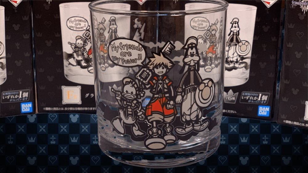 These glass cups were originally released in Japan back in December, but are no longer available.