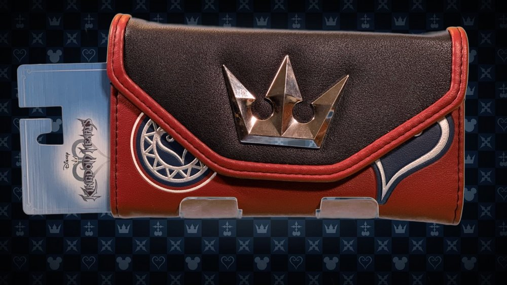 With this Kingdom Hearts wallet, you can show just how ready you are for this game to come out already!