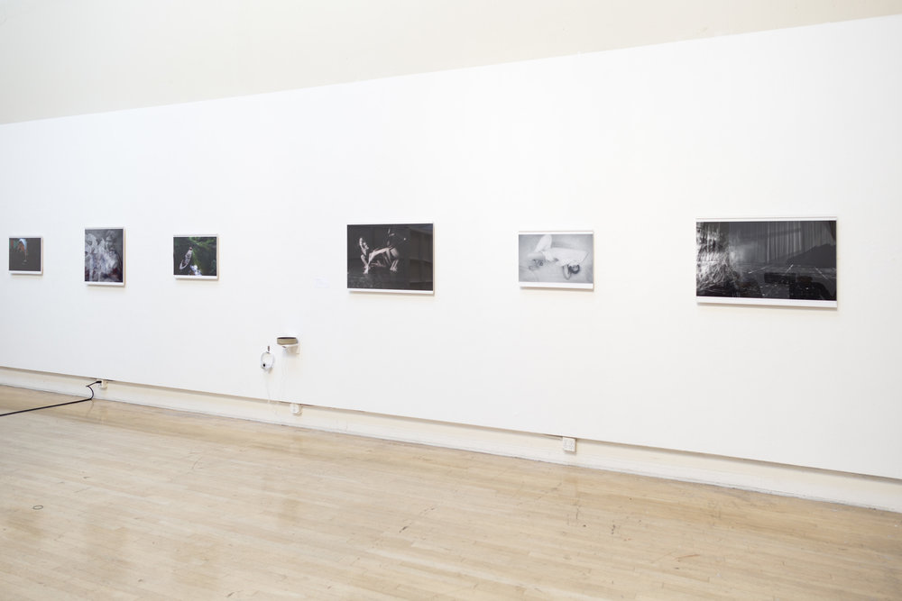 Photographs and sound installation by Vivian Vivas