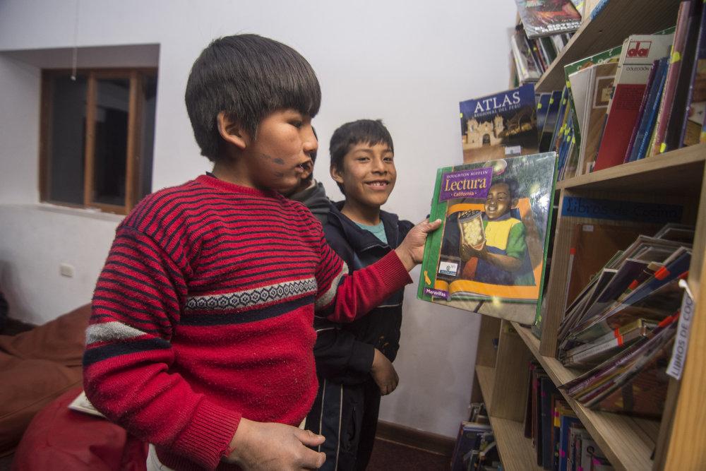 Juan Pablo y David participan en el programa de Libro Abierto.