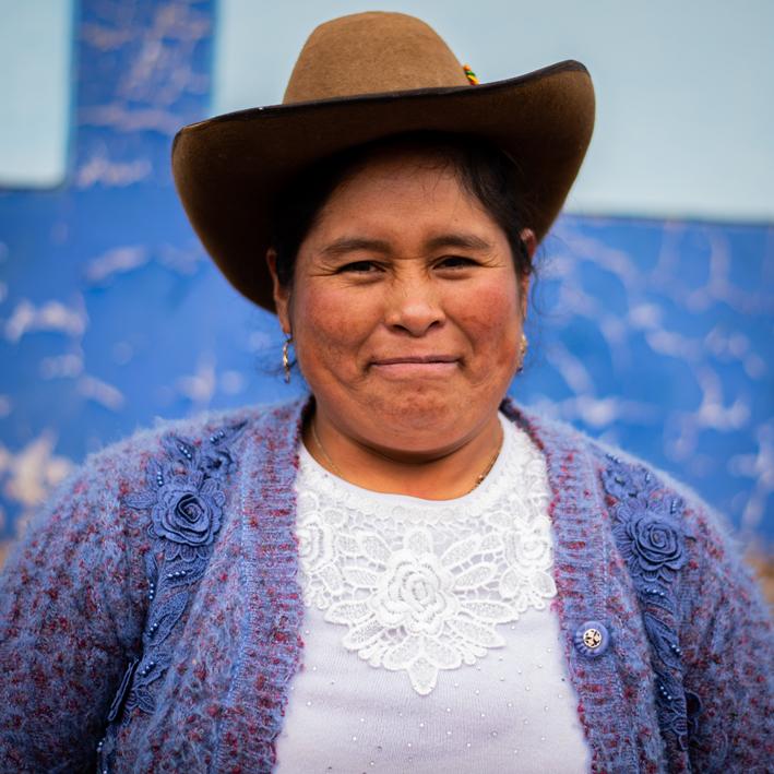 Juana, Presidenta de Egresados