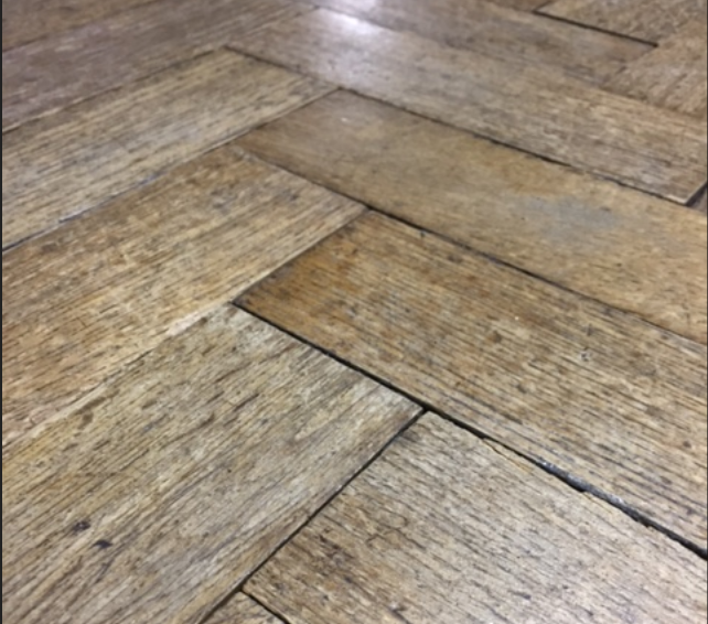 reclaimed parquet  WOODBLOCK -