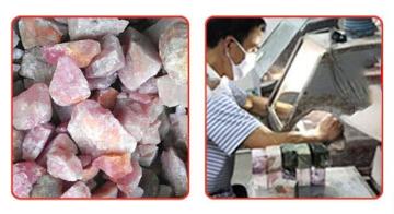 Herstellung der Yoni Eggs – Aus ganzen Steinen & von Hand geschliffen