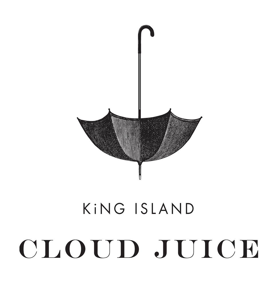 - Welcome to King Island Cloud Juice! We're very proud to present our new brand identity and website.