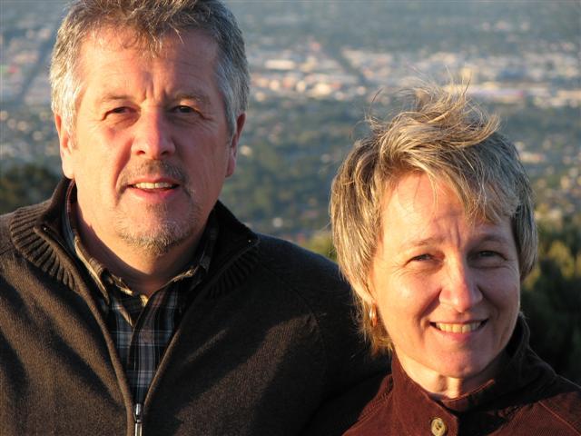 Bert & his wife, Sonja