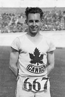 Percy Williams (Pi Gamma '32) – Gold Medal Sprinter – 1928 Amsterdam Olympics