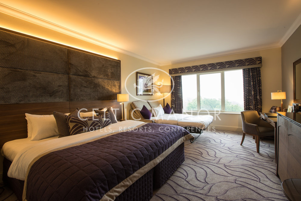 Celtic Manor Resort   Newport, 2017.  330 luxurious bedrooms with a modern and comfortable design