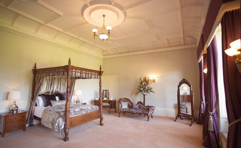 St Audries Park   Somerset, 2017-2018.  42 traditional bedrooms as part of a luxurious wedding venue