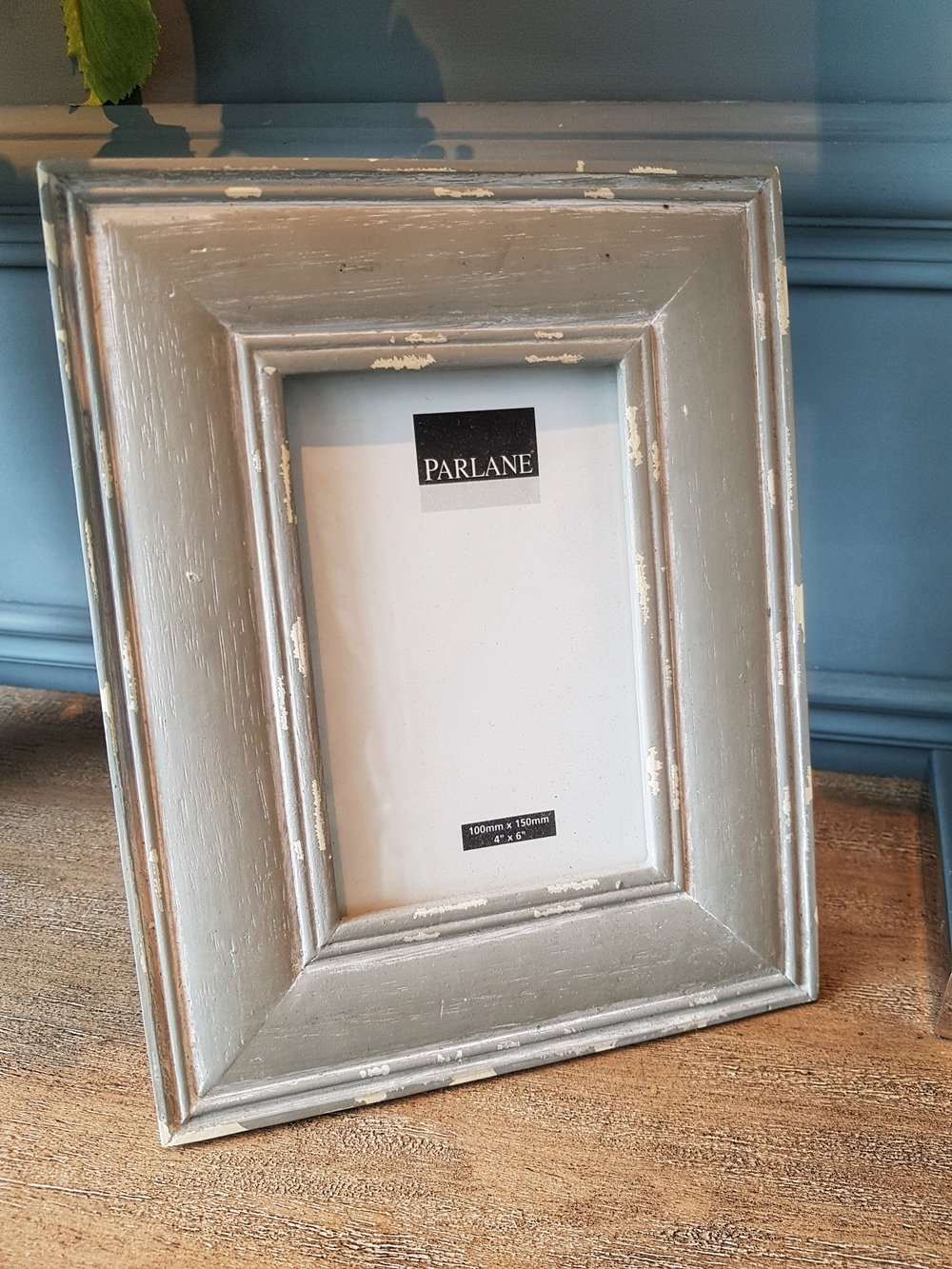 "Parlane Grey Photo Frame 4""x6"" - £16"