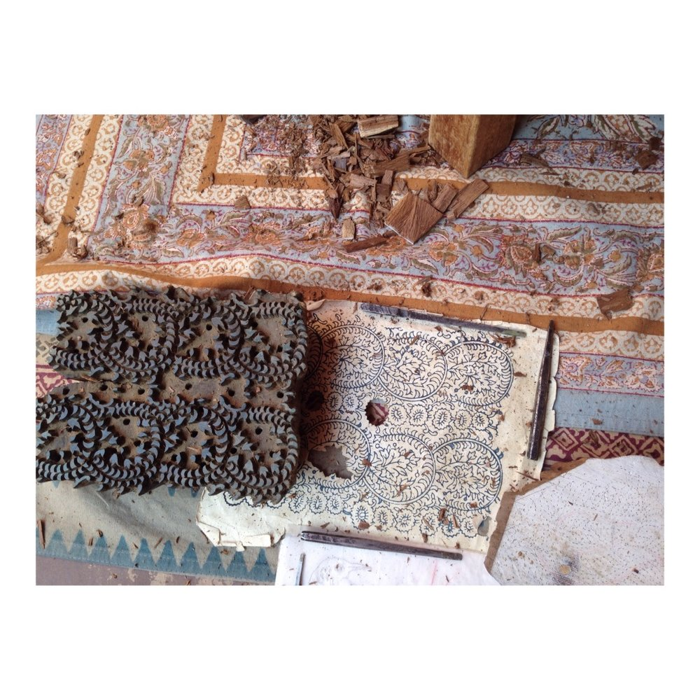 Blockprinting in jaipur