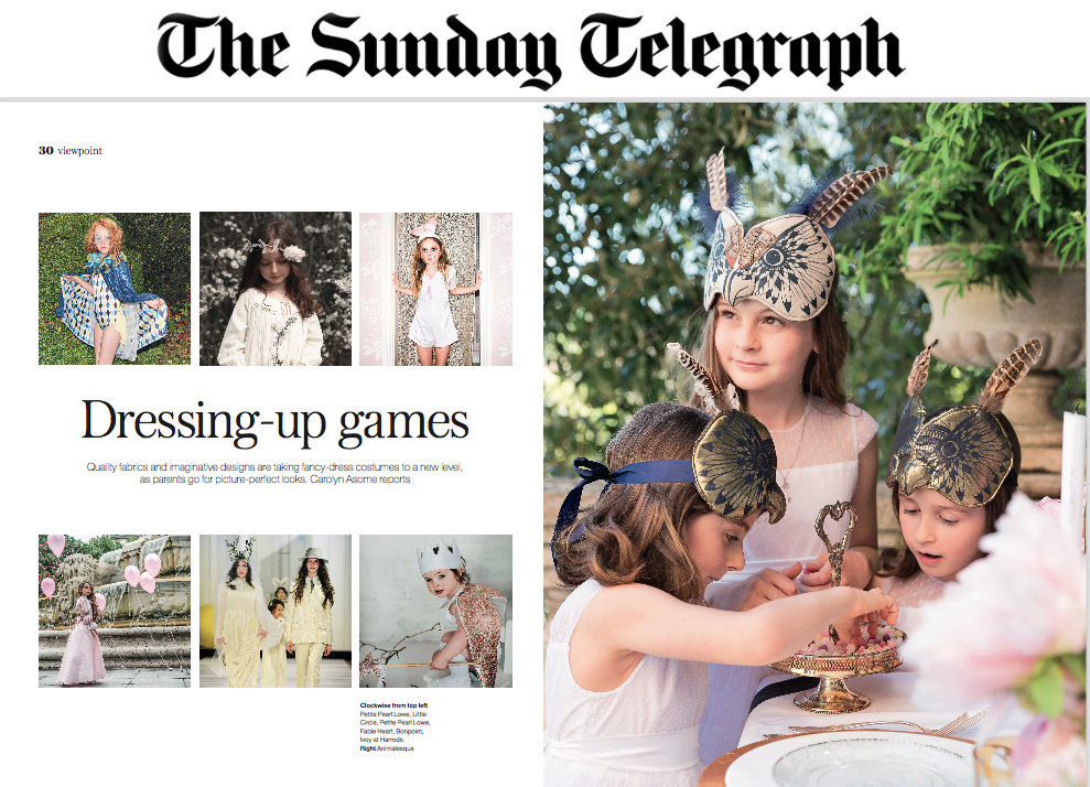 The Sunday Telegraph. Kids supplement