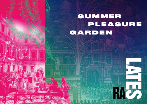 Summer Pleasure Garden. Royal Academy of Arts