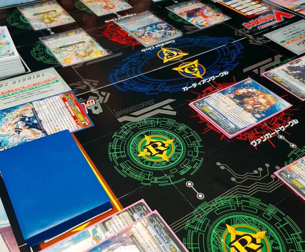 Custom Playmat For Cardfight Vanguard Using Trial Deck Contents