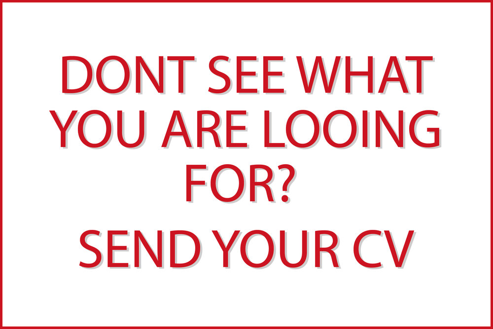 Other Positions - Send your CV -