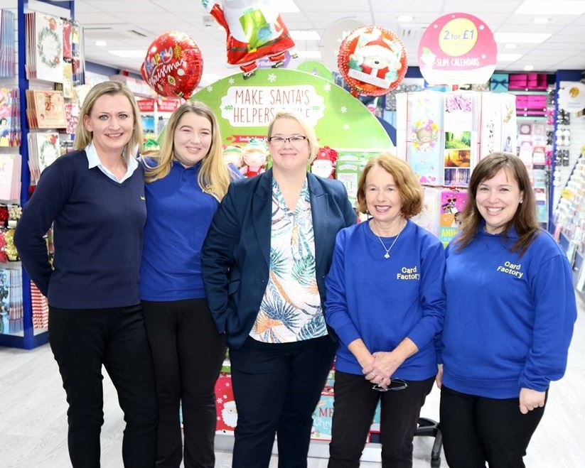 Card Factory - Now open at 64 King Street, Jersey -