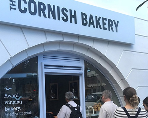 The Cornish Bakery - Now open in Gibraltar -