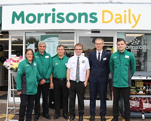 Morrisons Daily - Now open Queens Road -