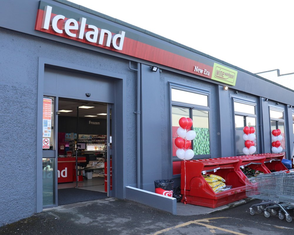 Your newly refurbished Iceland New Era Store -