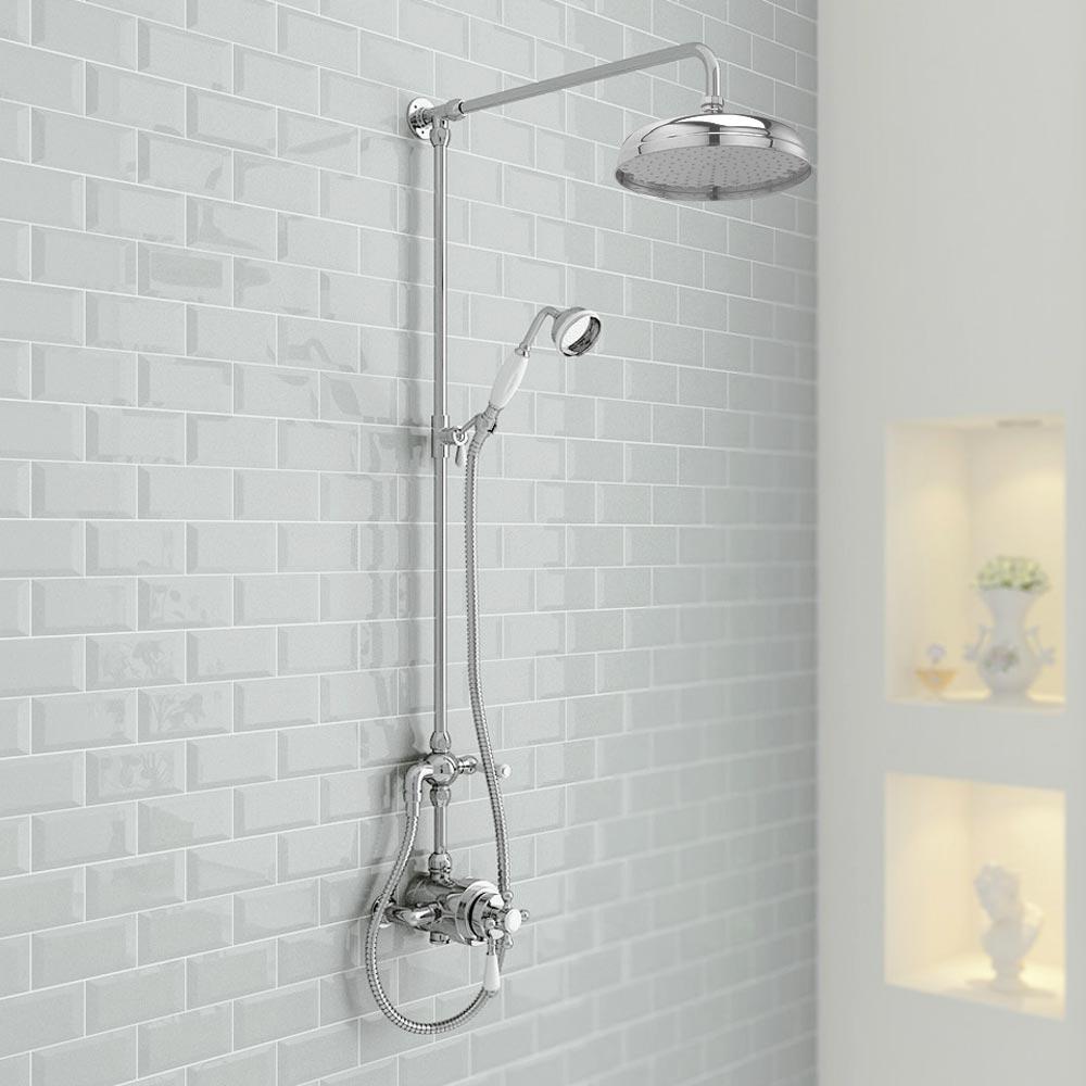 Shower Tiles Green Bathroom