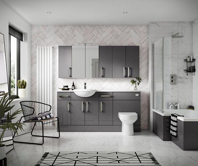 We love the simplicity of this modern bathroom - Would you go for a bathroom like this? . . . . . #bathroom #willenhall #bathroomremodel #bathroomrenovation #bathroomdecor #bathtubgoals #BathroomInspo #bath #homedecor #tile #dreambathroom #goals #inspiration #sink #dudley #birmingham #shower #showergoals #bathroomgoals #radiator #style #stylish #modern #dreamy #pinterest #doccia #radiator #towelrail