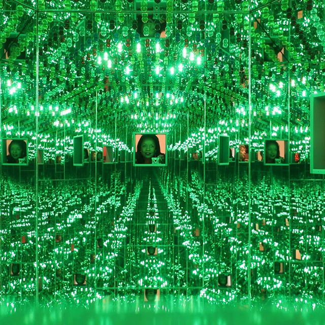I would like to dedicate to the whole world a great message. It is a message from Kusama who has struggled to survive as a human being and as an artist, and whose life has been brightly lit and strengthened by her pursuit of truth. - Yayoi Kusama #yayoikusama #artislife