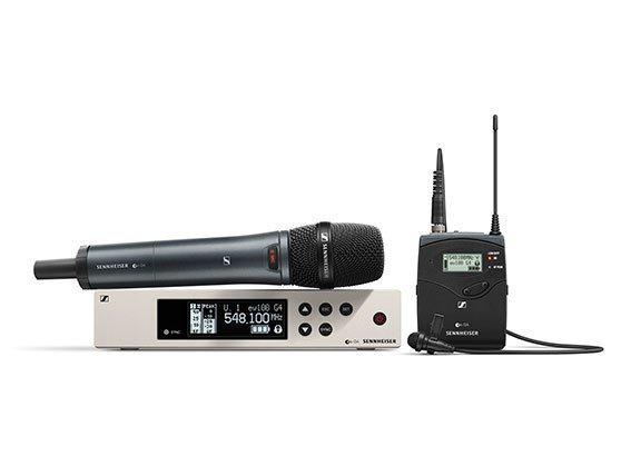 We stock Sennheiser and Shure Radio Microphones.