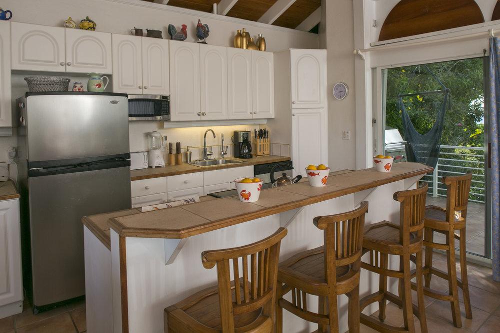 Honeymoon (Owner's Suite) Kitchen