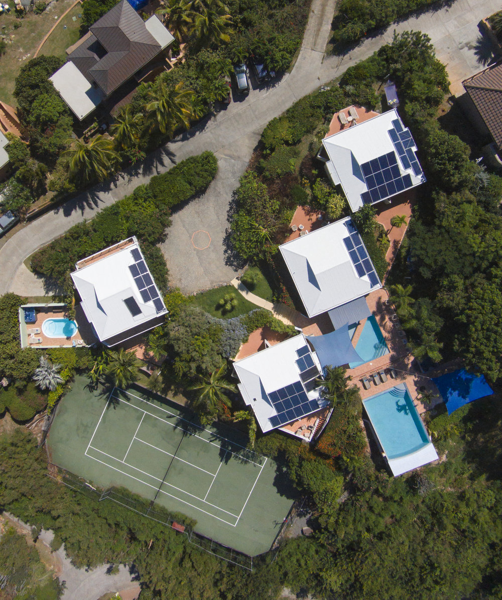 Another aerial shot of Great Expectations compound
