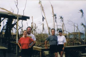 Guanaja hurricane mitch