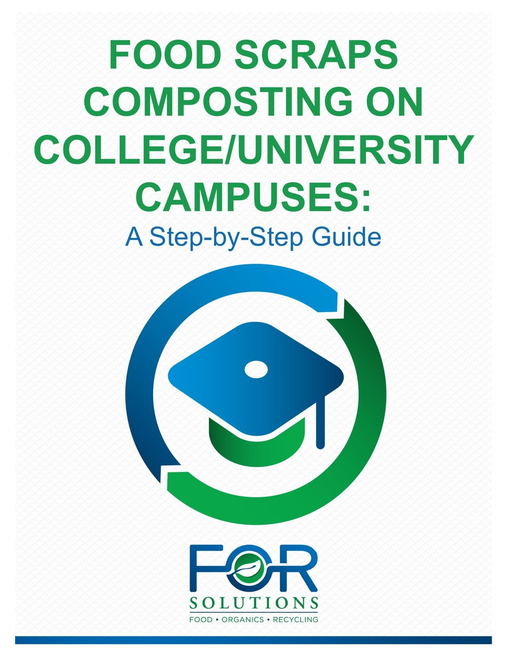 "To download our free eBook ""Food Scraps Composting on College /University Campuses: A Step-by-Step Guide"", please complete the form."