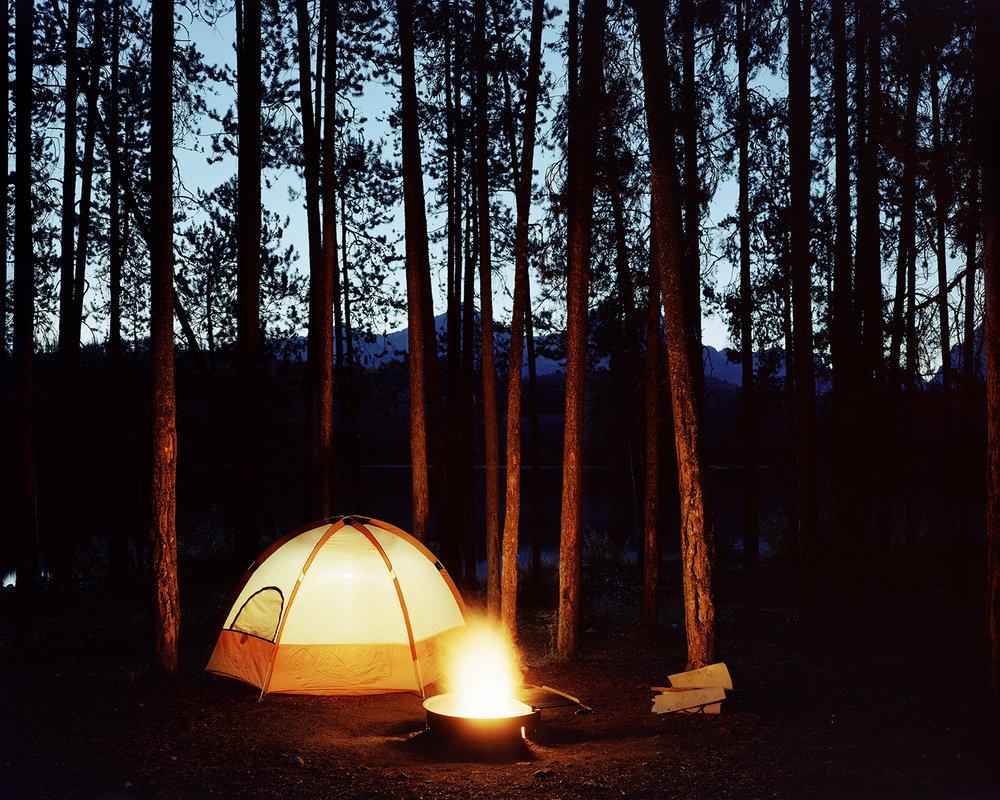 Little Redfish Lake Campground, Custer County, Idaho, 2003
