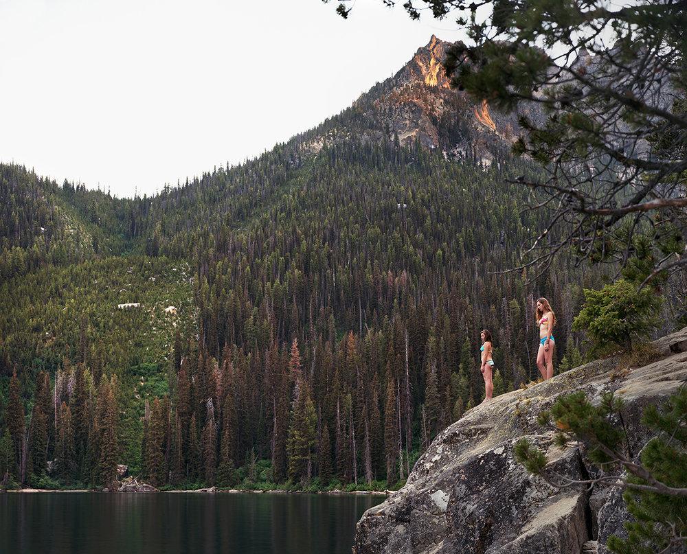 Avalanche Chute, Redfish Lake, Custer County, Idaho, 2012