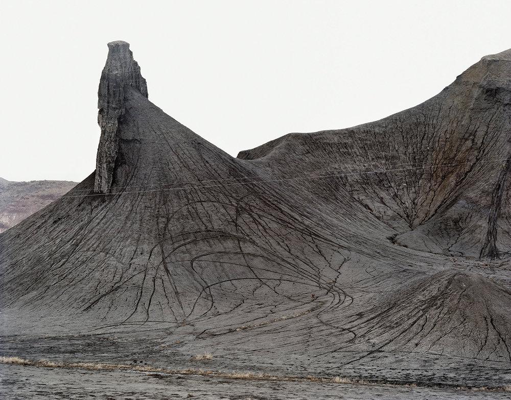 Badlands, Cretaceous Mancos Sea, Near Caineville, Utah, 2010